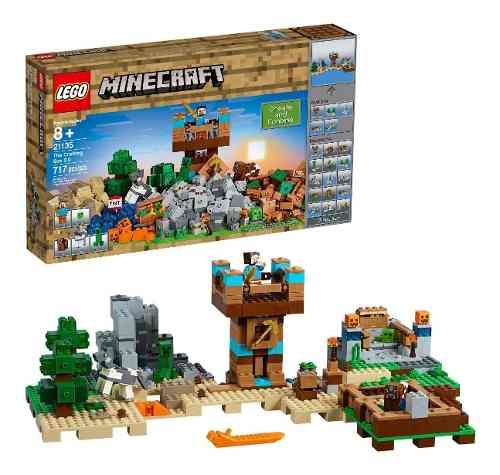 Lego Minecraft A Caixa De Minecraft 2.0 717 Pçs - 21135 FULL
