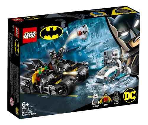 Lego Batman Batalha Com Senhor Frio 200 Peças - 76118 FULL L