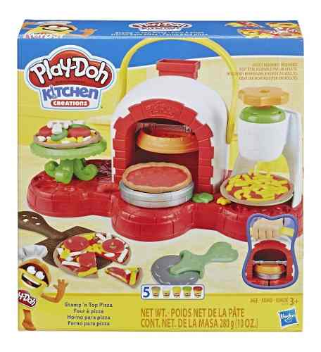 Play Doh Massinha Forno De Pizza Original - Hasbro E4576 FULL