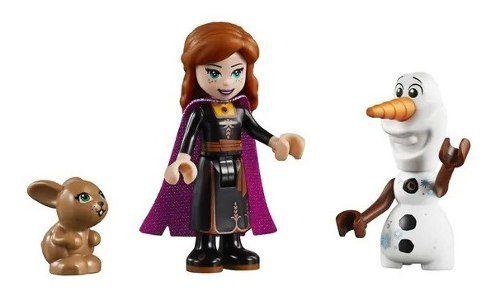 Lego Frozen 2 - A Expedição De Canoa Da Anna 108 Peças FULL