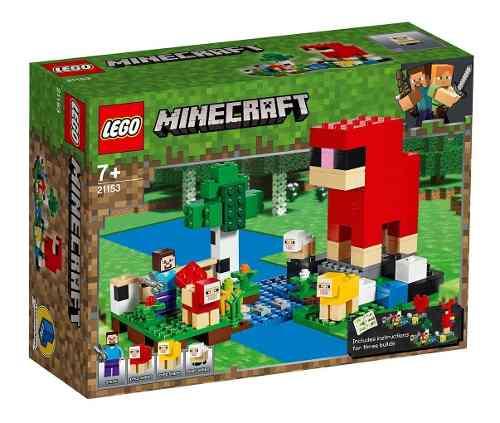 Lego Minecraft - Fazenda De Lã - 260 Peças FULL