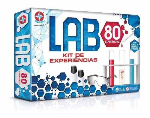 Jogo De Experiências Lab 80 Original - Estrela FULL