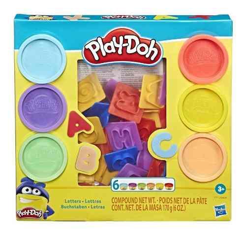 Play-doh Massinha Moldes De Letras Abc - Hasbro E8532 FULL