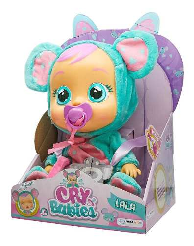 Boneca Que Chora Cry Babies Lala - Multikids FULL L