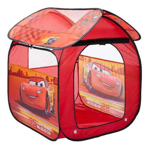 Barraca Infantil Tenda Portátil Carros Mcqueen Zippy Gf001b FULL L