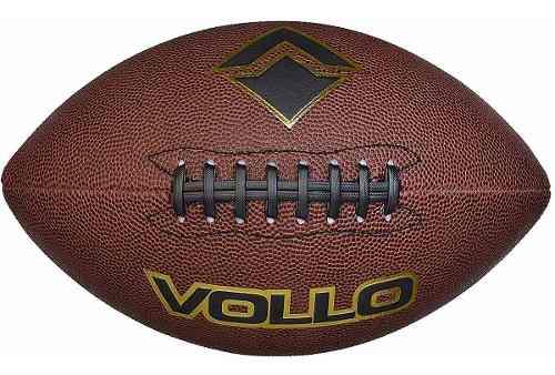 Bola De Futebol Americano Marrom (9) - Vollo Vf001 FULL