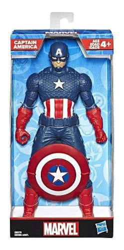 Boneco Capitão America 25cm Marvel Vingadores - Hasbro