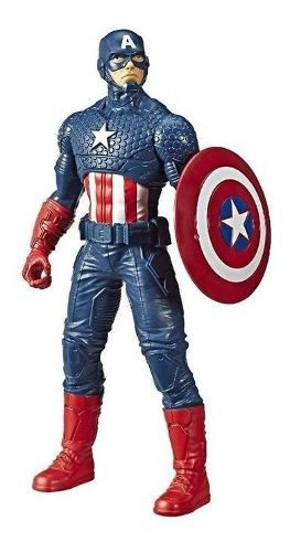 Boneco Capitão America 25cm Marvel Vingadores - Hasbro E5556