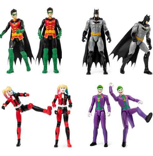 Coleção Bonecos Batman Gotham City Dc Comics - Sunny 2180