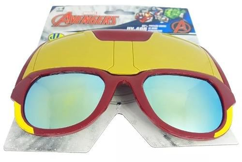 Oculos Infantil Marvel Avengers Uv-400 Homem De Ferro Dtc