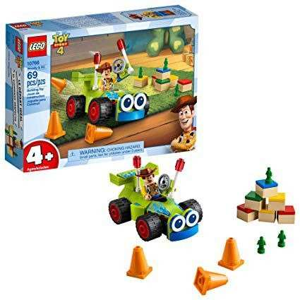 Lego Toy Story 4 - Woody E Rc - 10766 - 69 Peças FULL L
