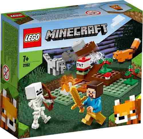 Lego Minecraft - A Aventura Em Taiga 74 Peças 21162 FULL