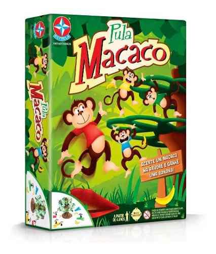 Jogo Pula Macaco Original - Estrela FULL