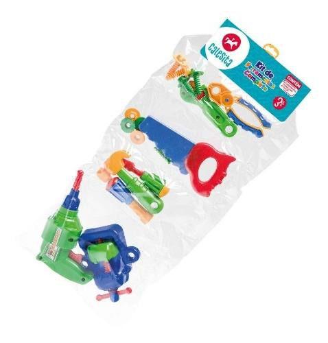 Kit Ferramentas Infantil 16 Peças Oficina - Calesita 0457 FULL