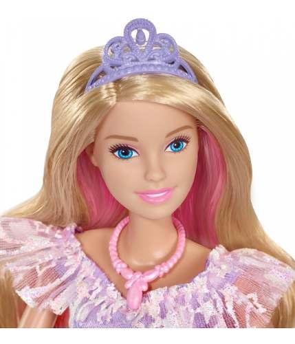 Boneca Barbie Dreamtopia Princesa Vestido Brilhante - Mattel full