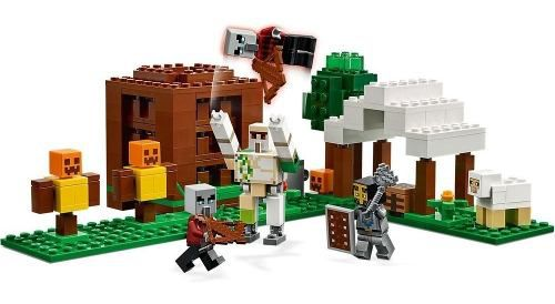 Lego Minecraft - The Pillager Outpost 303 Peças 21159 Full