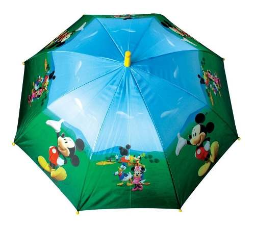 Guarda Chuva Infantil Mickey Club House 86cm - Zippy 5439 fuçll