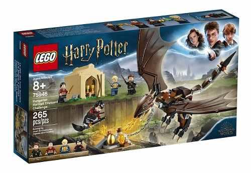 Lego Harry Potter Torneio Tribruxo De Rabo Córneo 265 Peças full