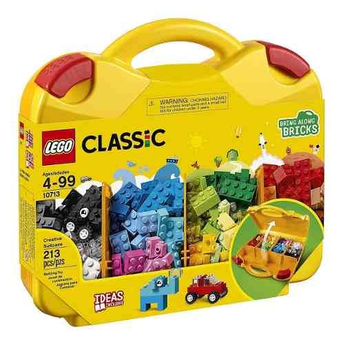 Lego Classic - Maleta Da Criatividade 213 Peças 10713 full