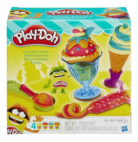 Massinha Play Doh Sundae - Hasbro