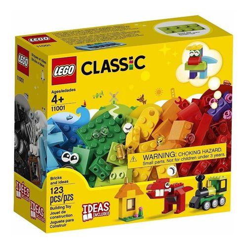 Lego Classic - Peças E Idéias 123 Peças - 11001