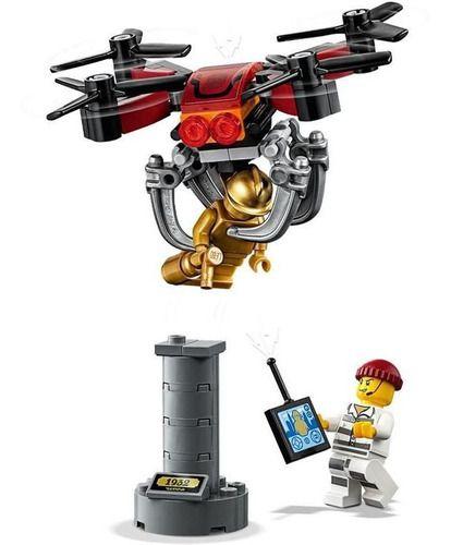 Lego City Perseguição De Drone 192 Peças 60207