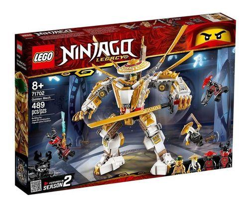 Lego Ninjago - Robô Dourado 489 Peças 71702 full