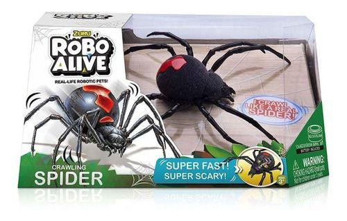 Robo Alive Aranha Viúva Negra Candide Original