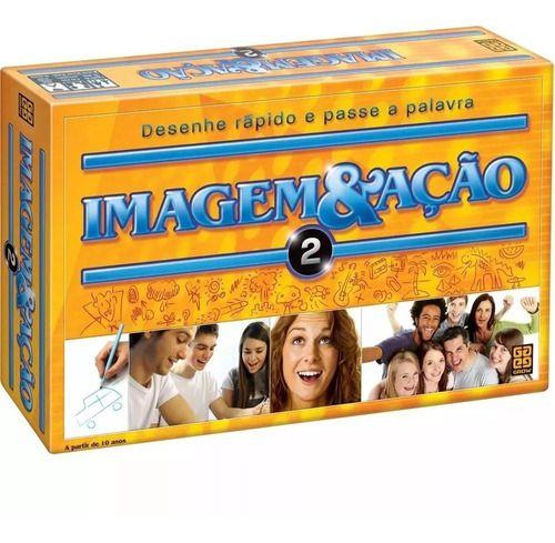 Jogo De Tabuleiro Imagem & Ação 2 Original - Grow FULL