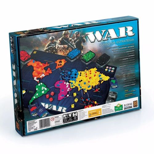 Jogo De Tabuleiro War Original - Grow FULL