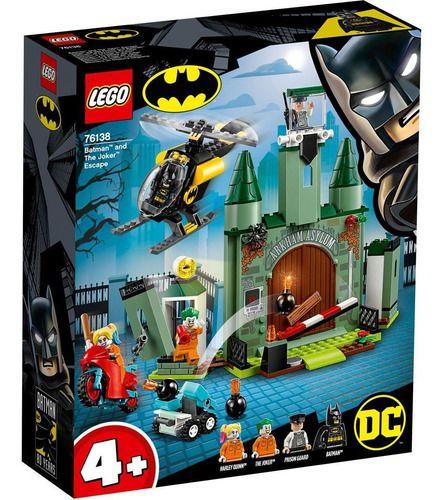 Lego Batman Fuga Do Coringa 171 Peças - 76138 FULL