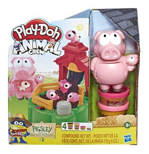 Play-doh Fazendinha Animal Porquinho Hasbro - E6723 full