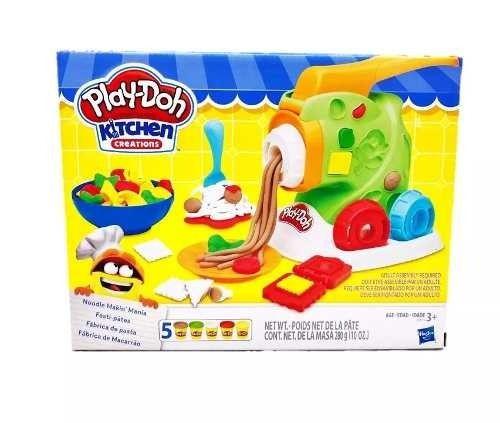 Play Doh Massinha Fábrica De Macarrão - Hasbro B9013 FULL