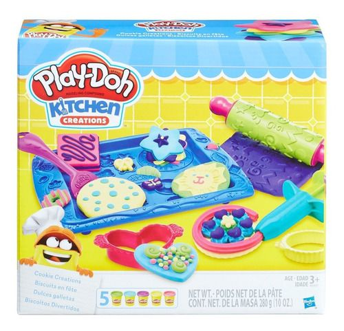 Play Doh Massinha Biscoitos Divertidos Hasbro B0307 FULL