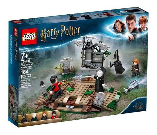 Lego Harry Potter 184 Peças O Ressurgimento De Voldemort full