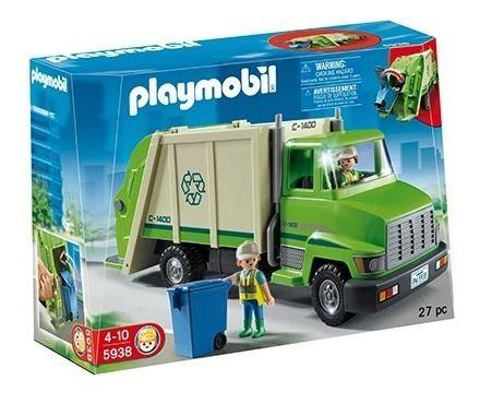 Playmobil City Life Caminhão De Reciclagem - Sunny 268 full