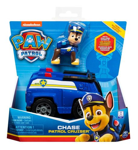 Brinquedo Figura E Veículo Patrulha Canina Chase Sunny 1389 FULL