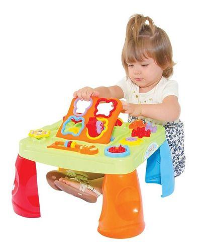Mesa Infantil Atividades Criativa Didática - Maral 4002 full
