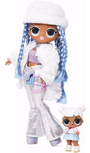 Boneca Lol Omg Winter 25 Surpresas Snowlicious - Candide FULL