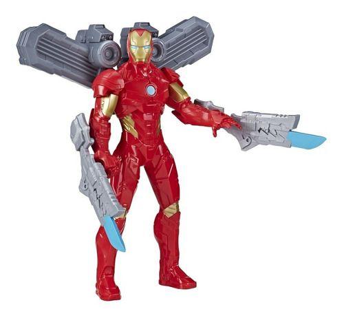 Boneco Homem De Ferro Olympus C/ Acessorios - Hasbro