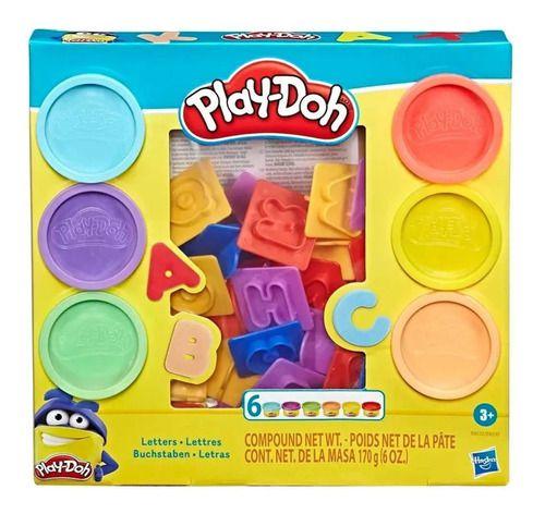 Massinha Play-doh Moldes De Letras - Hasbro