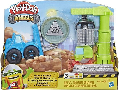 Play Doh Massinha Guintaste E Empilhadeira - Hasbro E5400 full