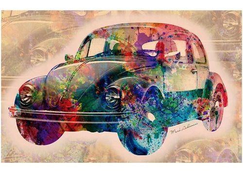 Quebra Cabeça Vintage Car 3000 Peças - Grow 03462