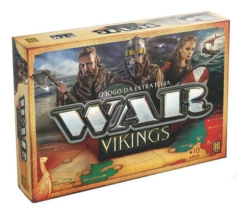 Jogo De Tabuleiro War Vikings Jogo De Estrategia - Grow