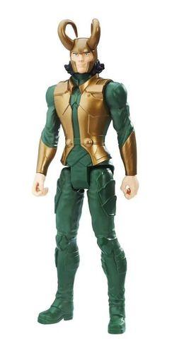 Boneco Loki Titan Hero Blast Gear Hasbro FULL