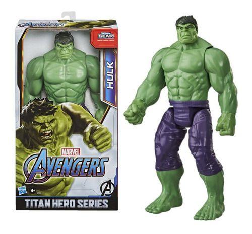 Boneco Hulk Titan Hero Blast Gear 28 Cm Hasbro - E7475 FULL