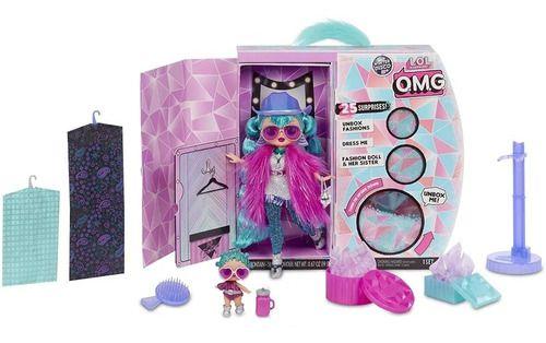 Boneca Lol Surprise Omg Winter 25 Surpresas - Cosmic Nova FULL