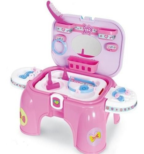 LKit Camarim Baby Alive Meninas Acessórios Rosa - Cotiplás FULL