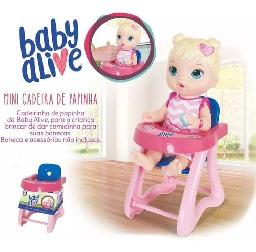 LCadeirão De Papinha Baby Alive Pequeno - 2174 - Cotiplás FULL