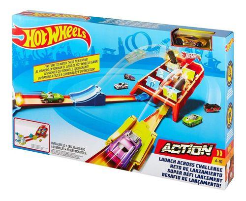 Pista Hotwhells Competição De Batidas 1 Carrinho - Mattel FULL